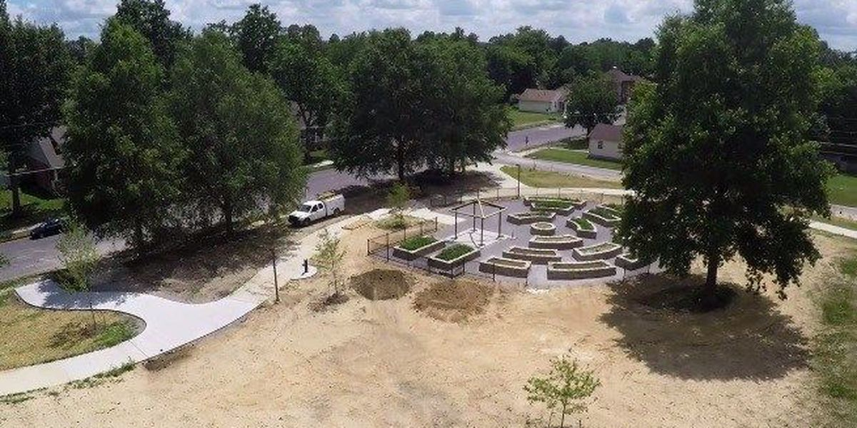 VIDEO: Construction finished on new Paducah health park
