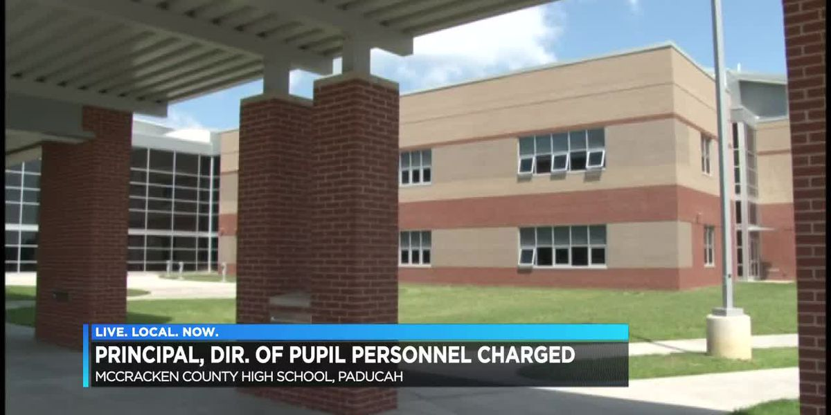 Principal and Director of pupil personnel charged