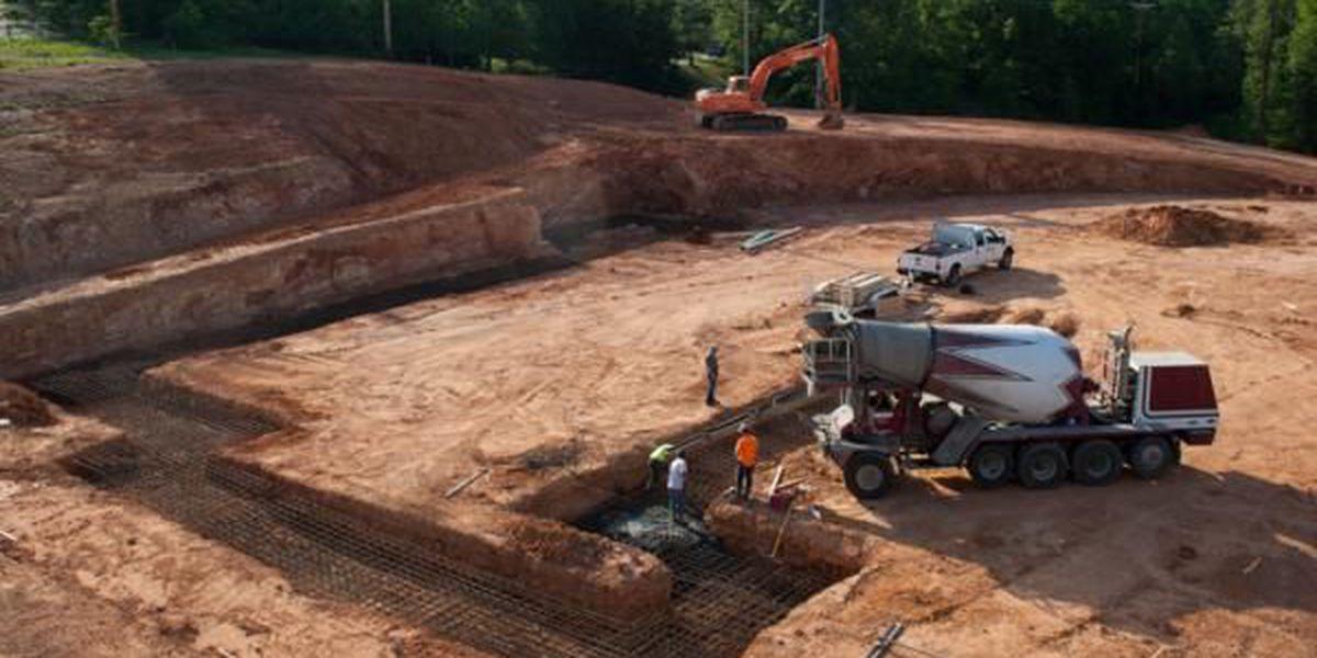Foundation work begins on new classroom building in Poplar Bluff