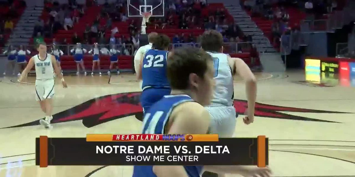 Notre Dame vs Delta at the Christmas Tournament 2019