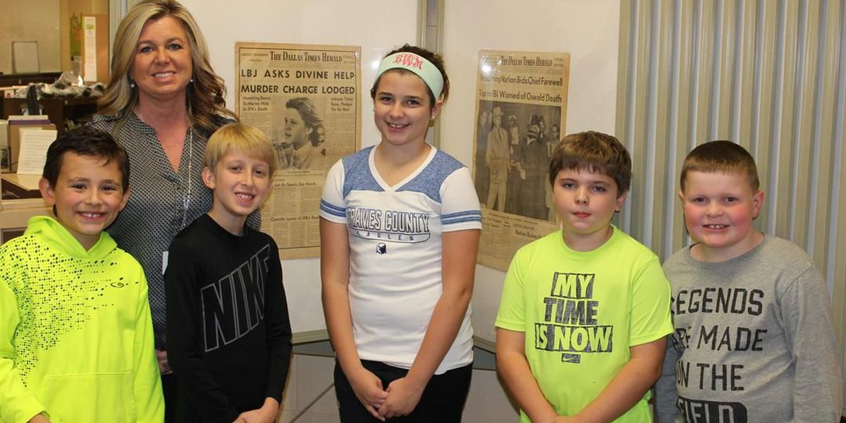 Graves Co. Central Elementary students find history comes alive through historic newspapers