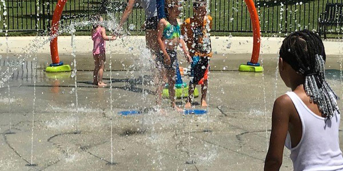 Splash Pad open in Cape Girardeau