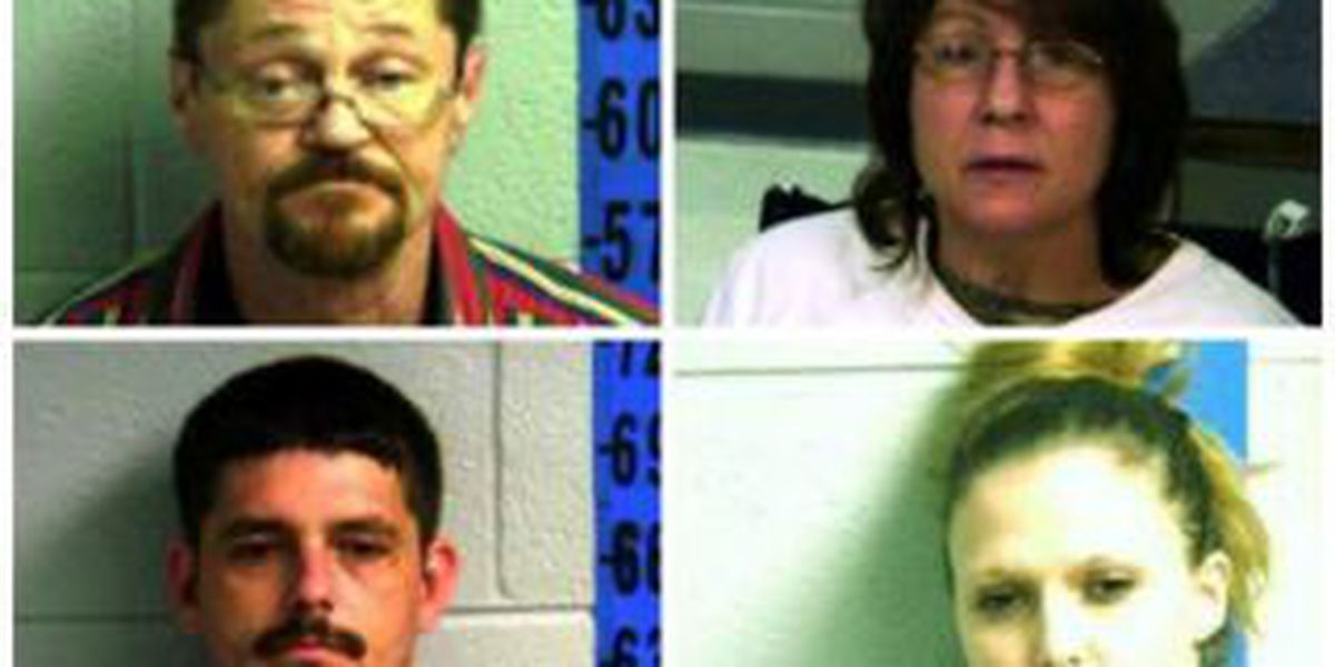 Sheriff: 2 in custody on drug charges, 2 in hiding