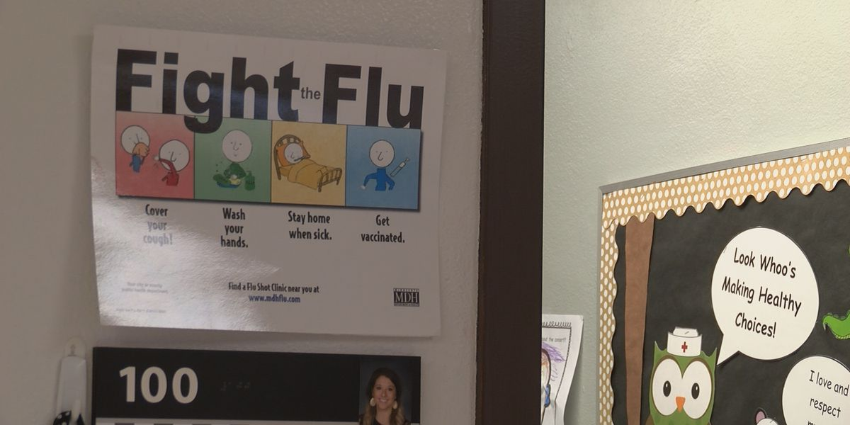 Heartland schools keeping sickness out of building