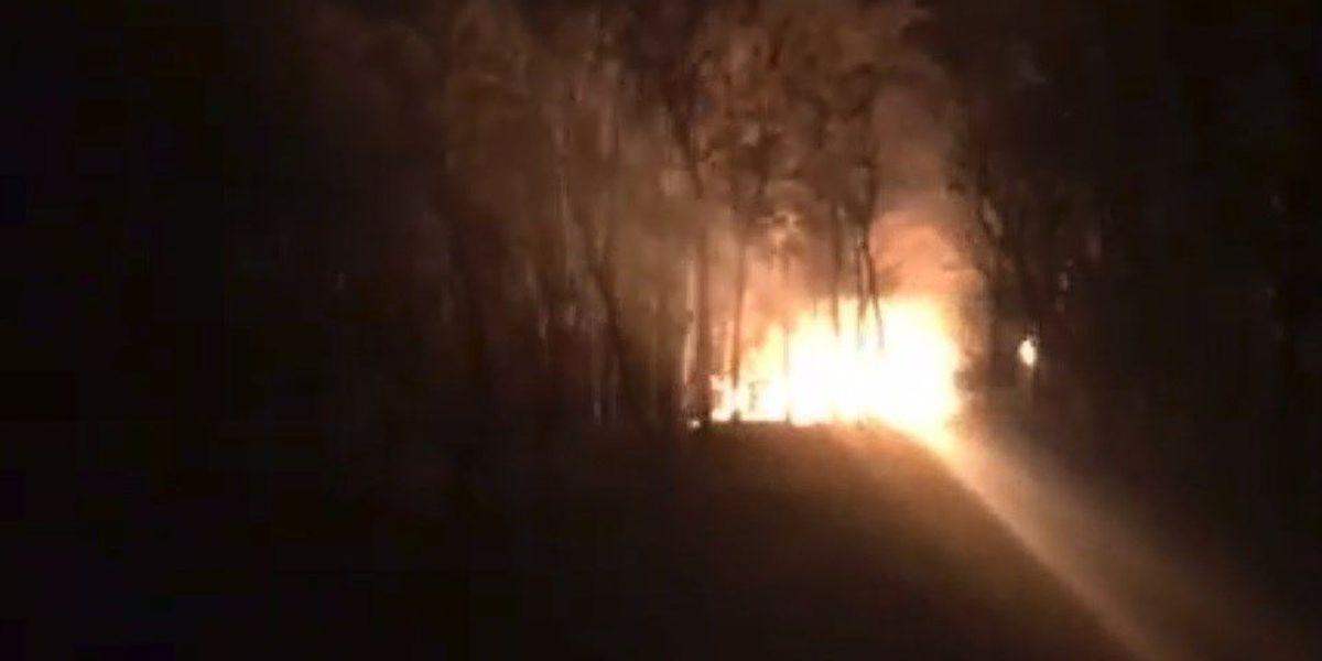 Structure fire in Cape Girardeau County, MO