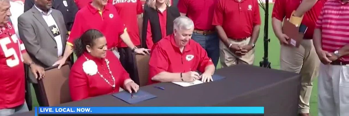 Chiefs named official team of Missouri