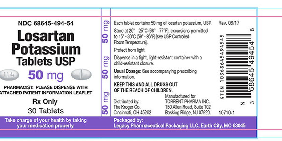 High blood pressure medicine recalled due to cancer risks