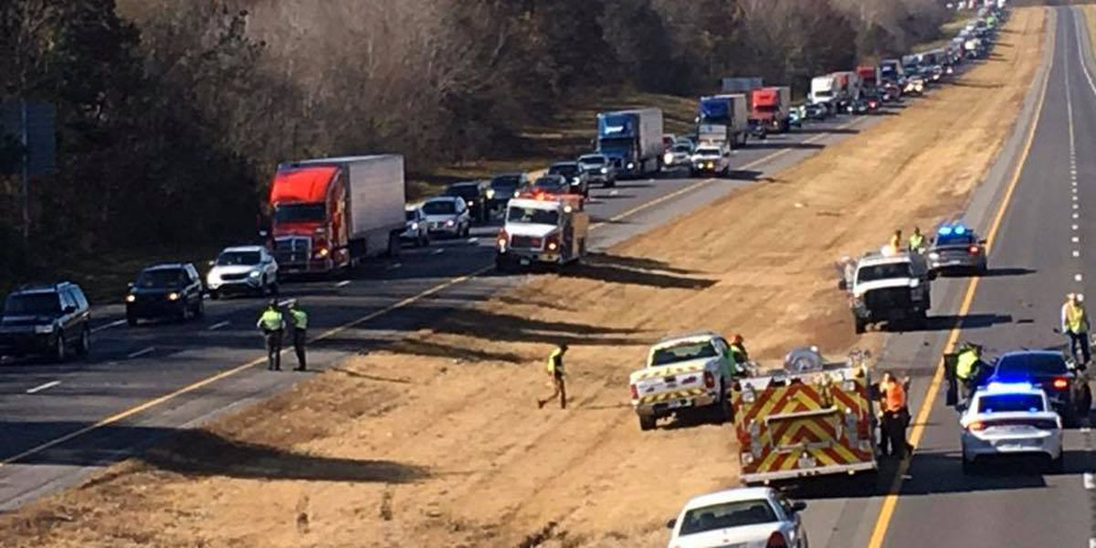 Traffic moving slowly due to multi-vehicle crash on I-24 in Marshall Co., Ky.