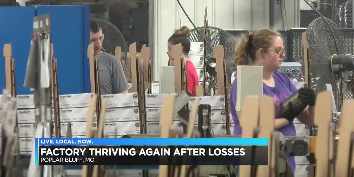 Poplar Bluff factory thriving again after losses