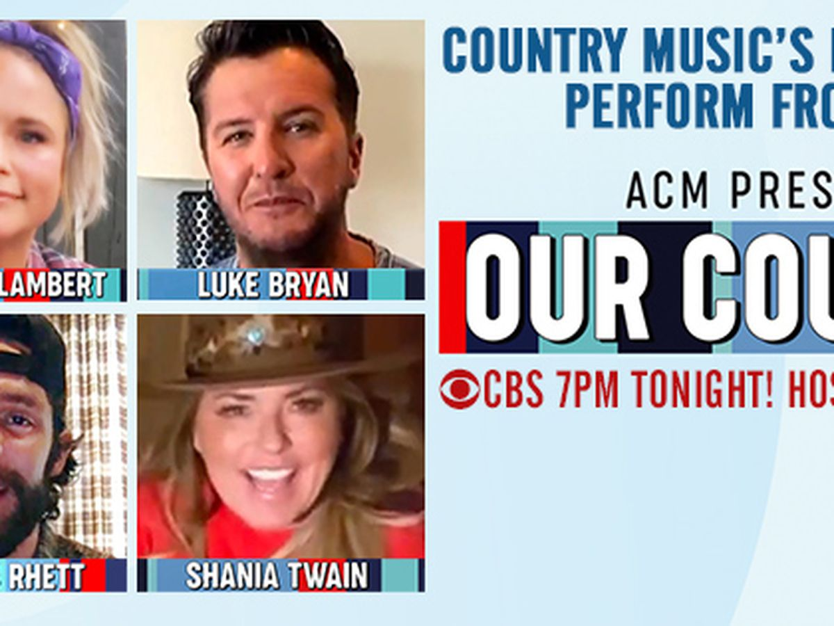 """Country Music's biggest stars perform from home on ACM Presents: """"Our Country"""""""