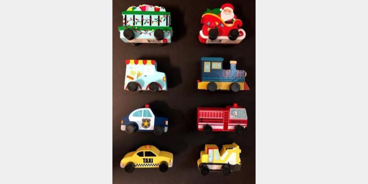 Target recalling wooden toys due to choking hazard