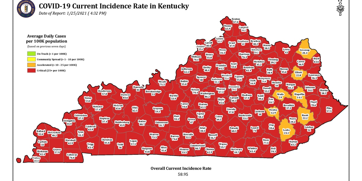 Gov. Beshear announces 2 cases of COVID-19 variant from UK confirmed in Ky.