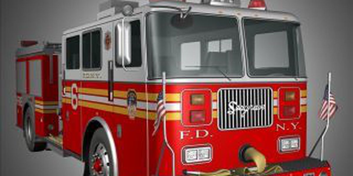Fire crews respond to semi fire on I-64