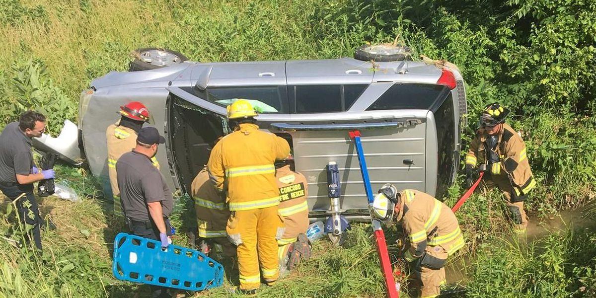 Man injured after rollover crash in McCracken Co., KY