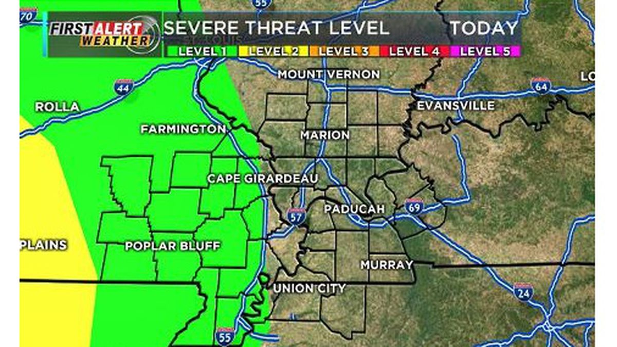First Alert: Warm-up begins, strong afternoon storms possible