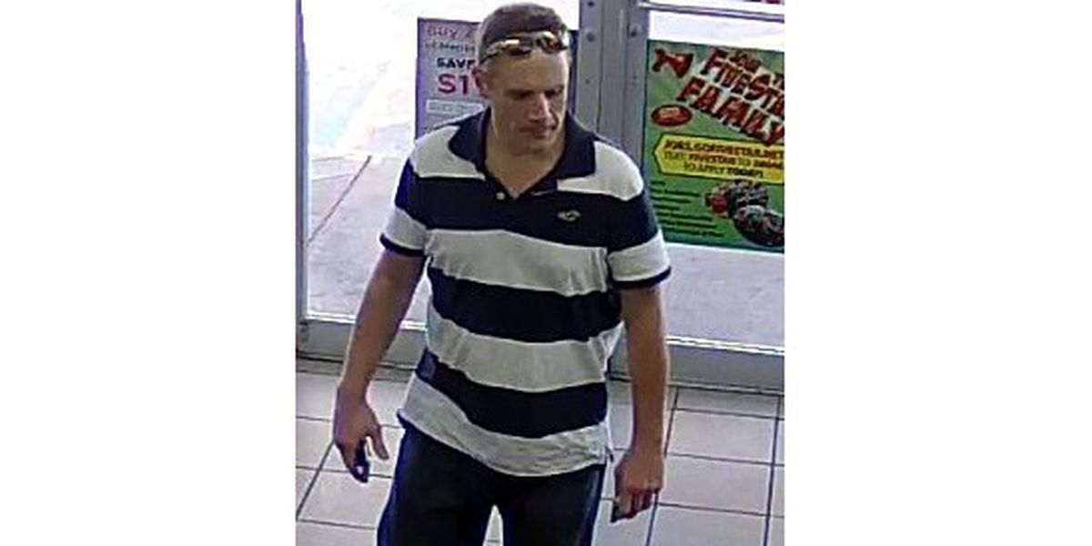 Police trying to identify suspect in counterfeit case