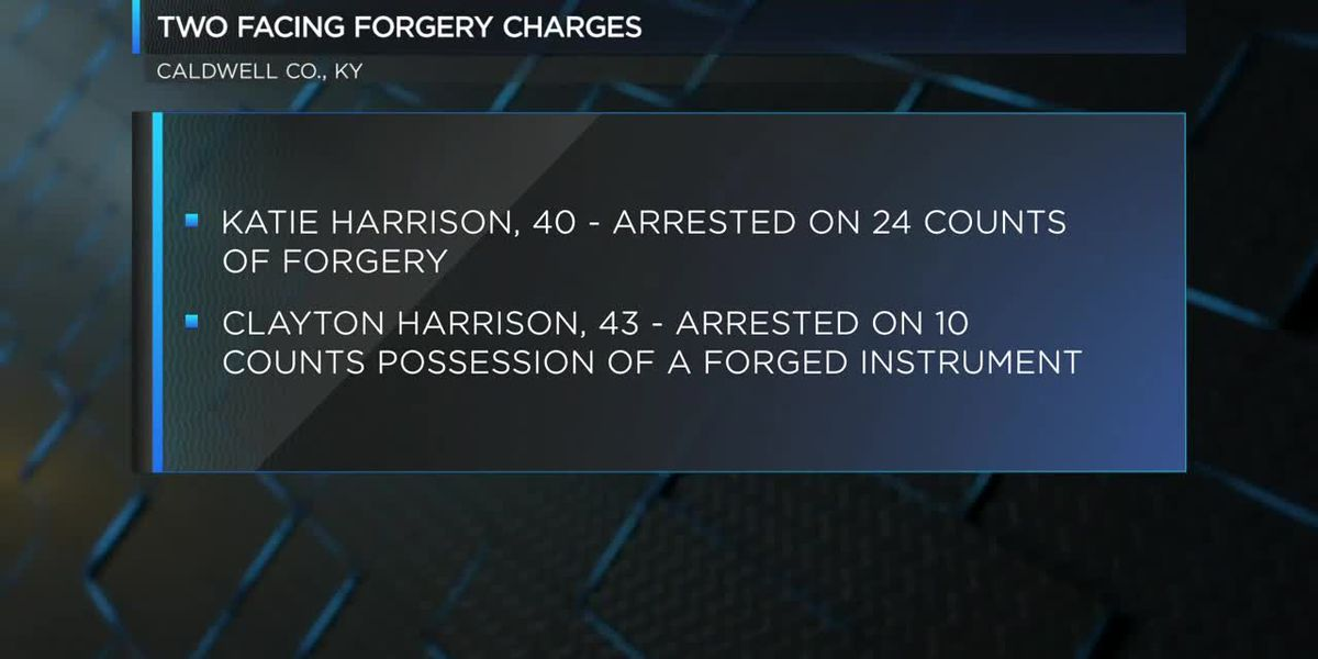 2 arrested in KY on forgery charges
