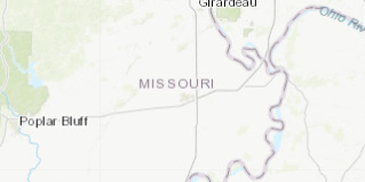 2.4M earthquake in southeast Missouri