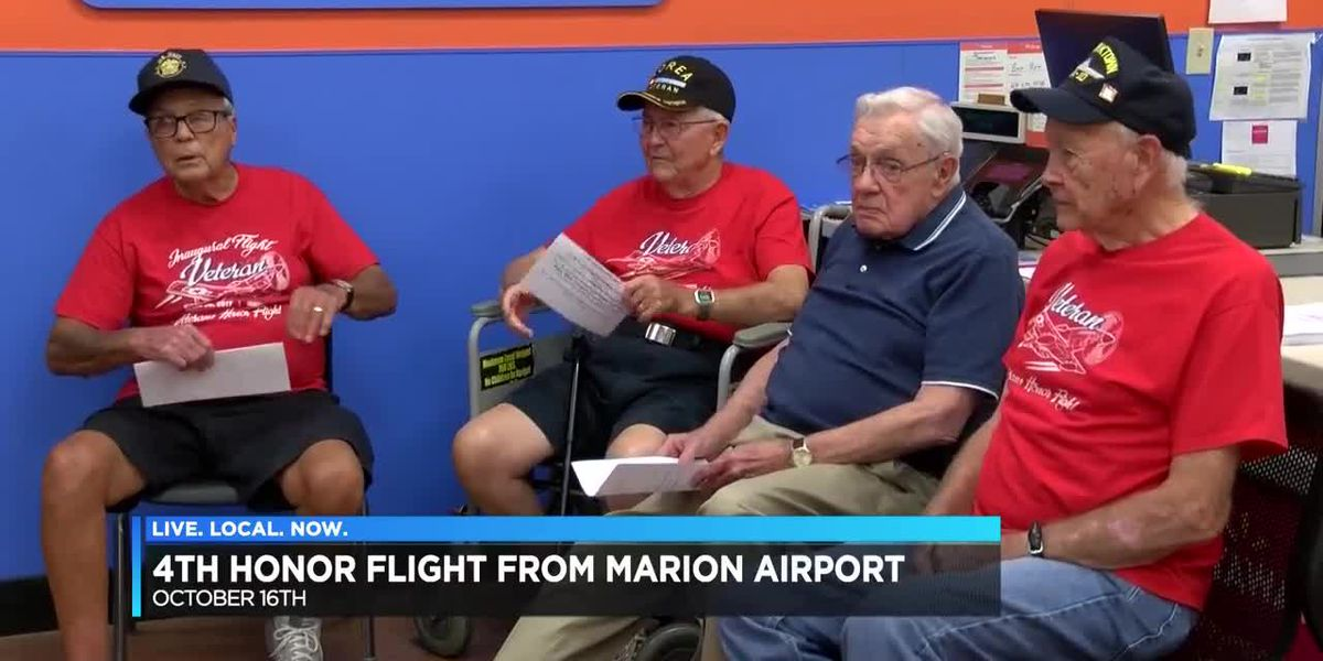 Honor flight planned in Oct. for veterans in southern IL