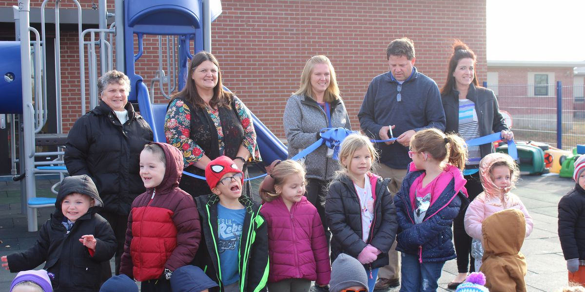 Grand opening of Oak Ridge R-VI Pre-School playground