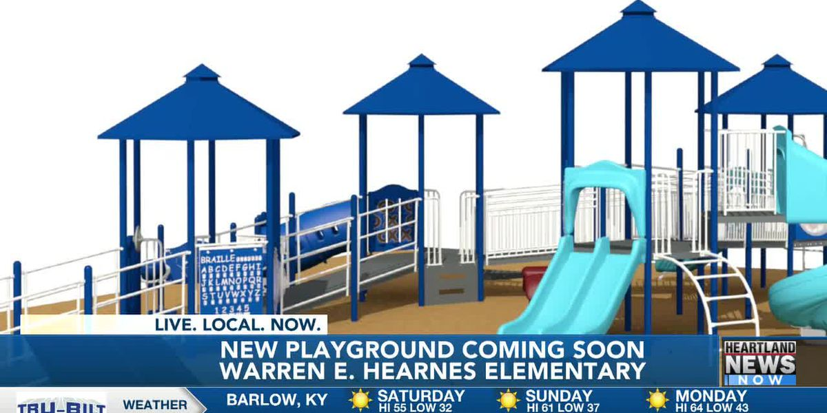 Plans finalized for $84K playground improvements at Hearnes Elementary