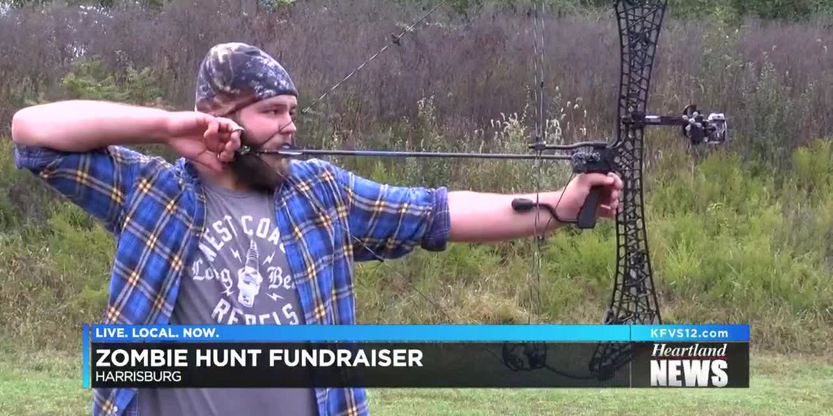Zombie hunt fundraiser