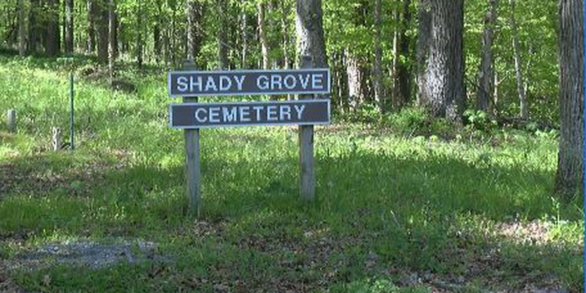 Historic African American cemetery in Cape Girardeau Co. in ruins