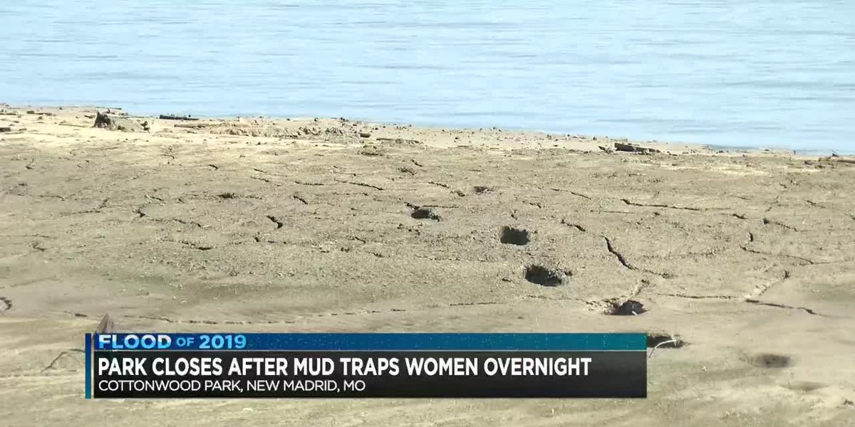 Park closes after mud traps women overnight