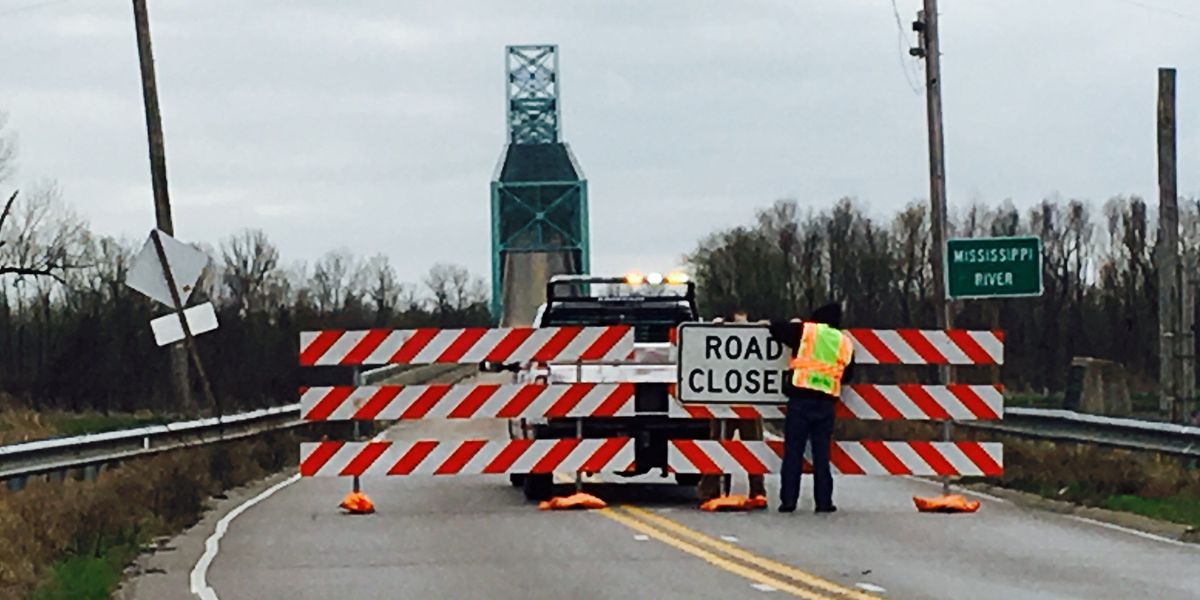 US 60/62 bridge near Cairo, IL to be closed during day for two weeks