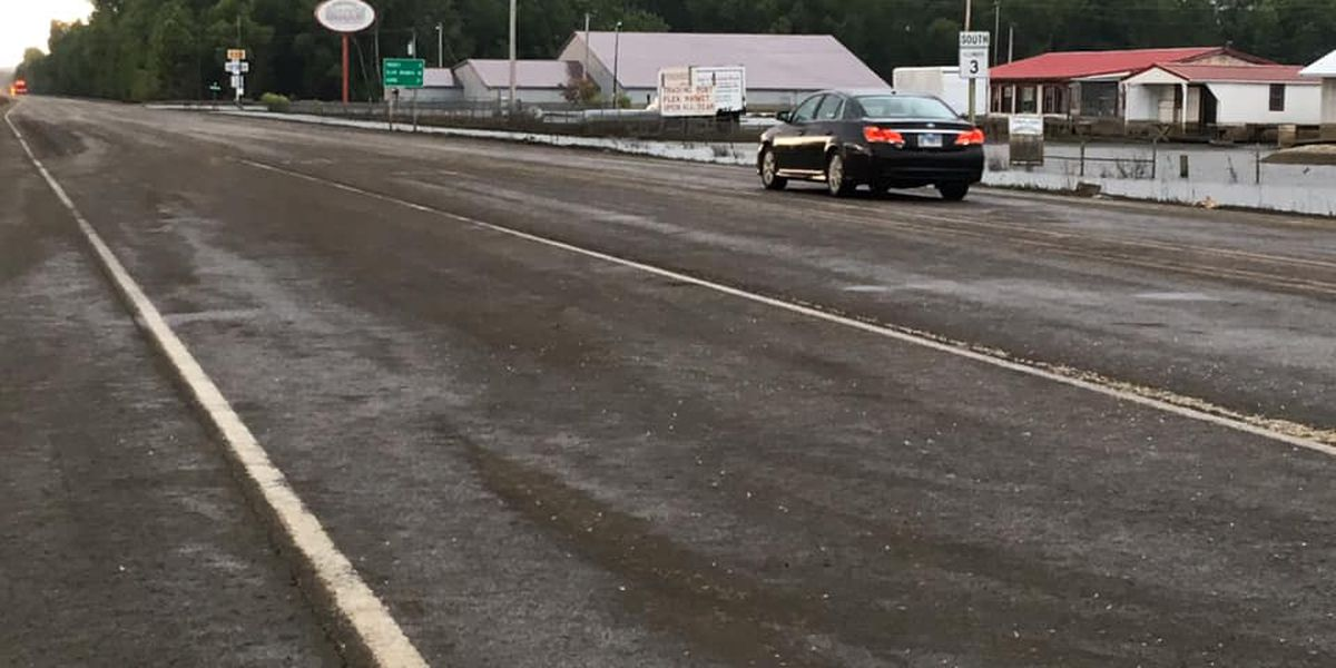 Rte. 3 between East Cape Girardeau, Gale, Ill. reopened