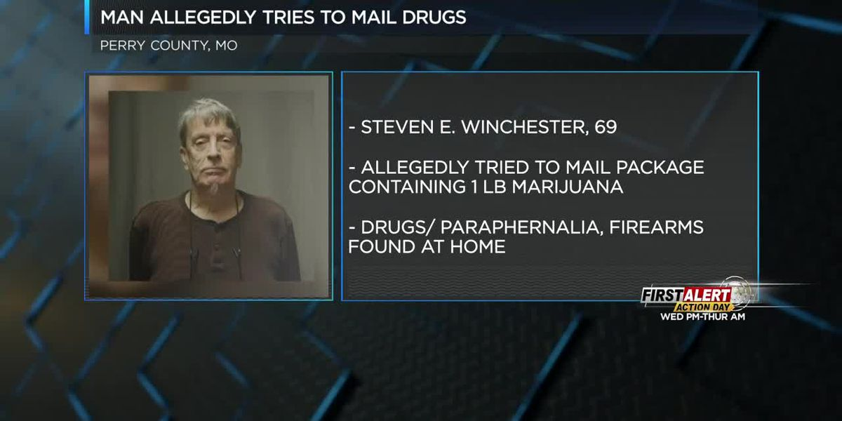 Man attempts to send marijuana through mail, arrested in Perryville, MO