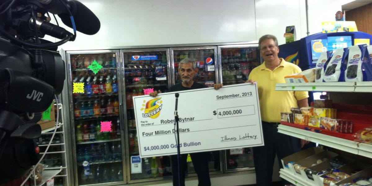 Du Quoin man wins $4 million in lottery