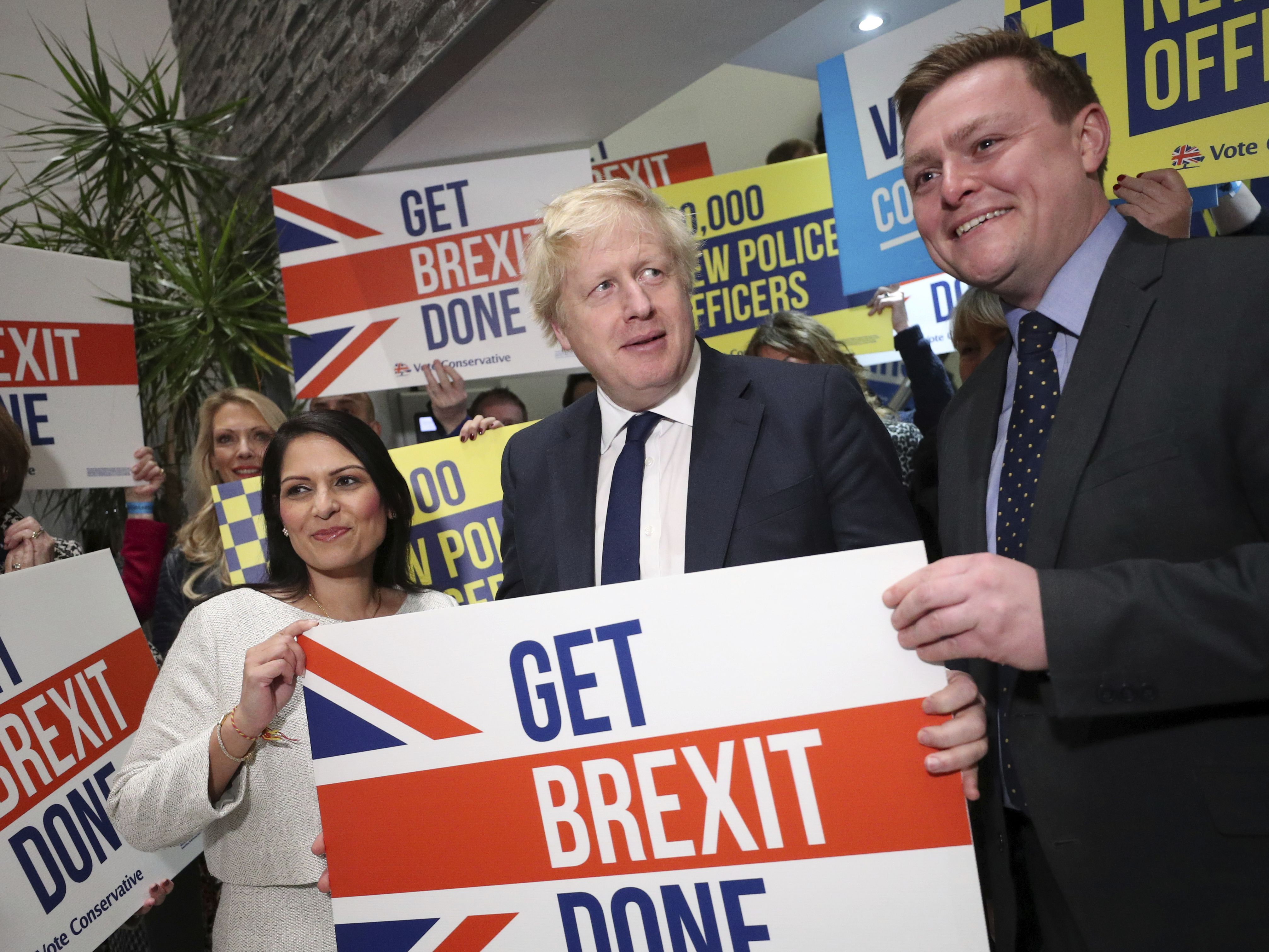 Boris Johnson's Conservatives win majority in UK election