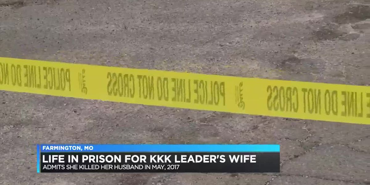 Life in prison for KKK leader's wife
