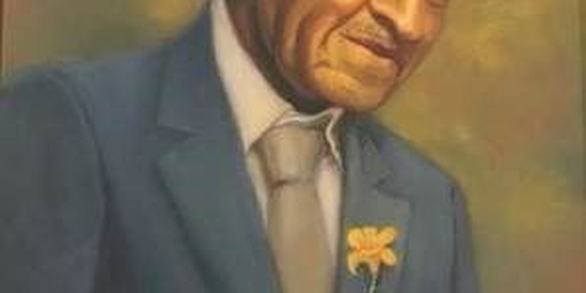 George Washington Carver portrait at MO governor's mansion