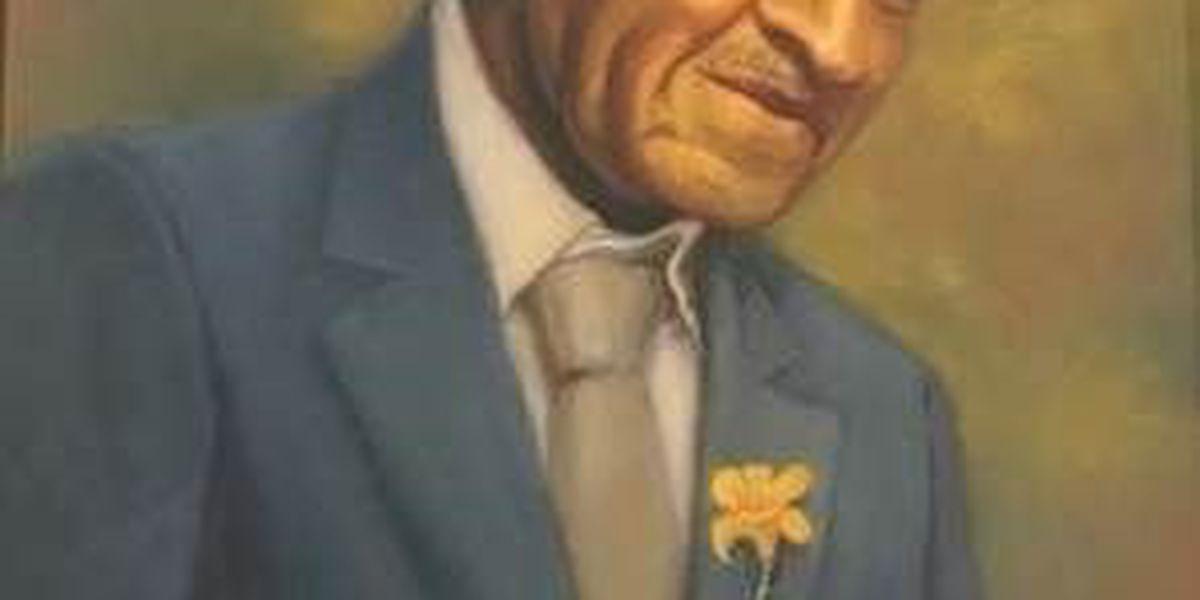George Washington Carver portrait at MO governor's mansion