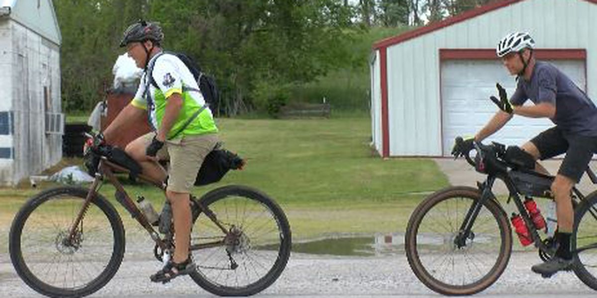 Kidney donor cycles to raise awareness
