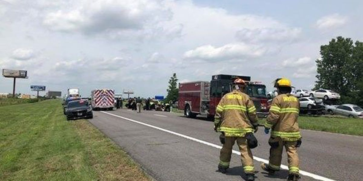 3 East Prairie, MO boys seriously injured in I-55 rollover crash