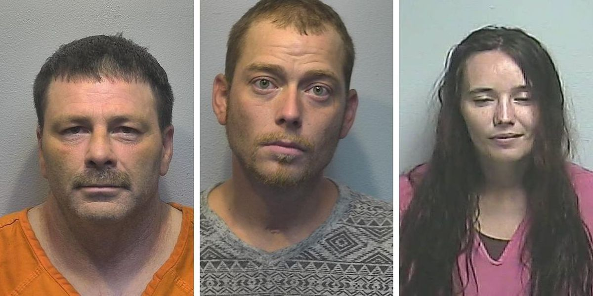 4 arrested after shots fired complaint in Farley, Ky.