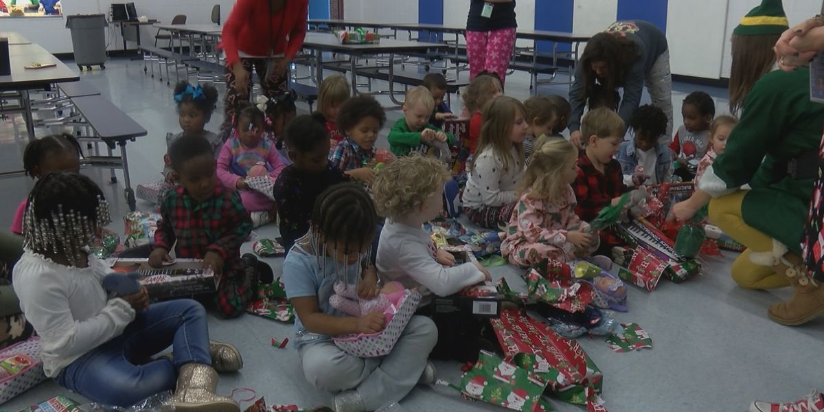 Christmas for every student at Charleston schools