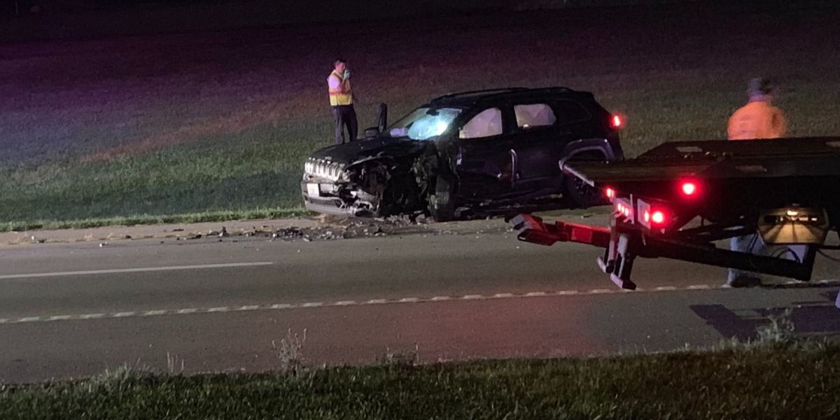 4 injured in two-vehicle crash on Kingshighway in Cape Girardeau, Mo.