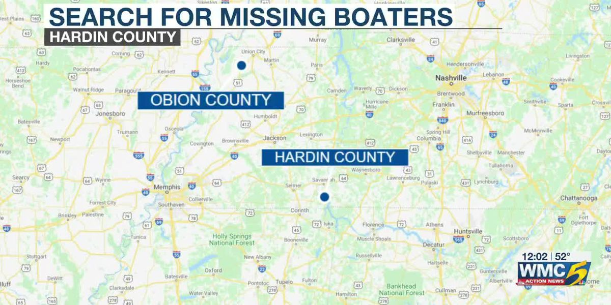 Boat recovered, 2 teens and adult still missing after weekend boating tournament at Pickwick Lake
