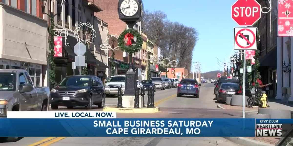 Shoppers turn out for Small Business Saturday in Cape Girardeau