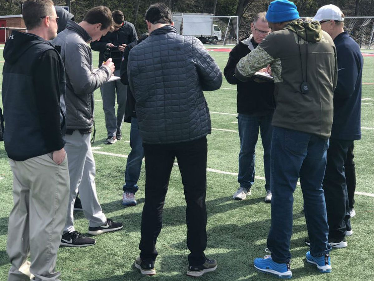 Redhawks host Football Pro Day