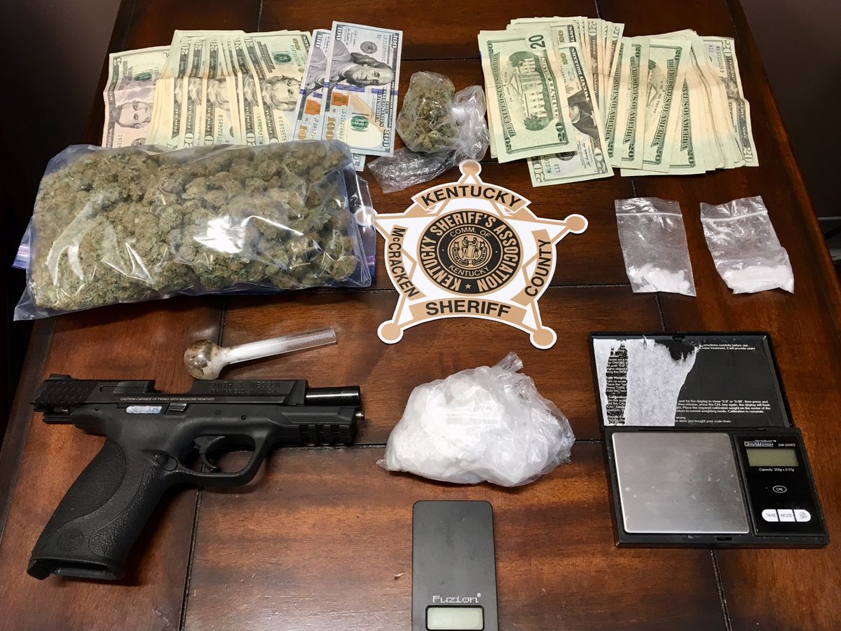Joint operation leads to 5 facing drug charges in McCracken Co., KY