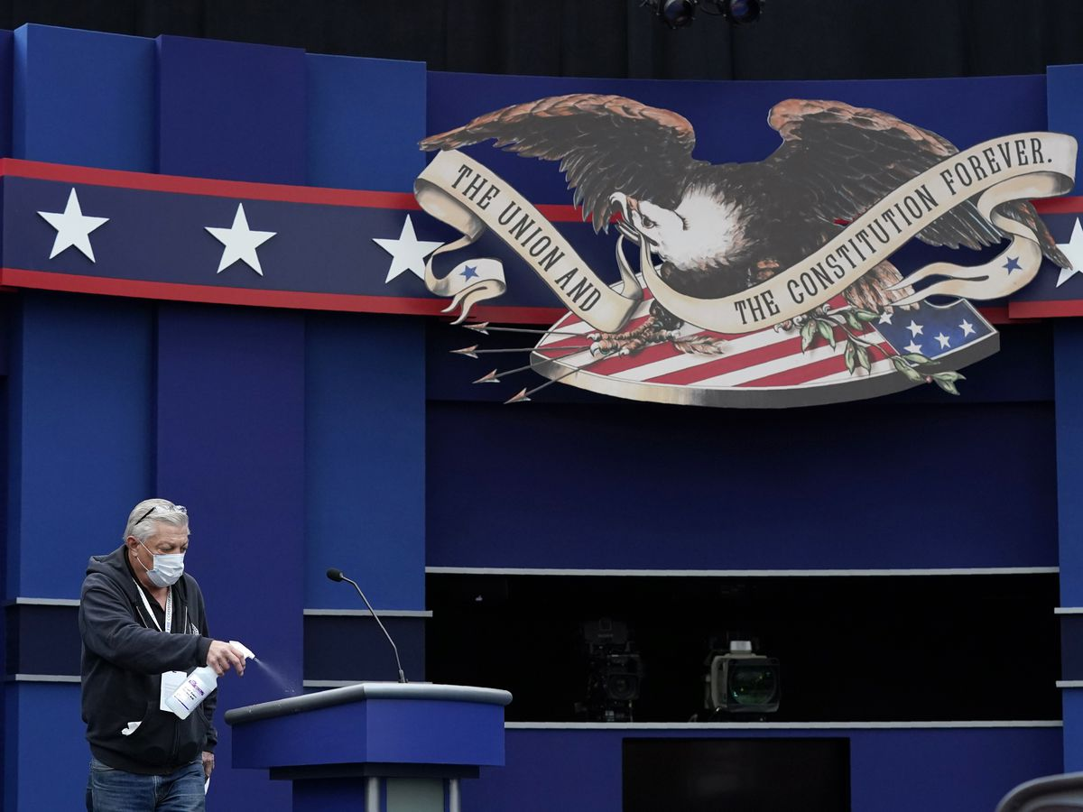 Trump, Biden prepare to debate at a time of mounting crises