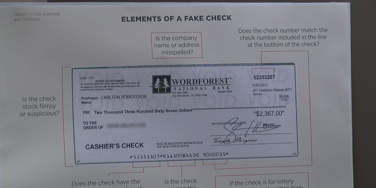 Better Business Bureau announces new investigative study on fake check scams