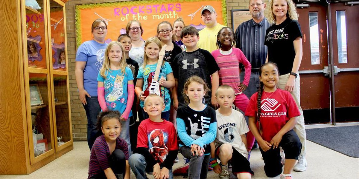Lake Road Elementary achievements in state spotlight