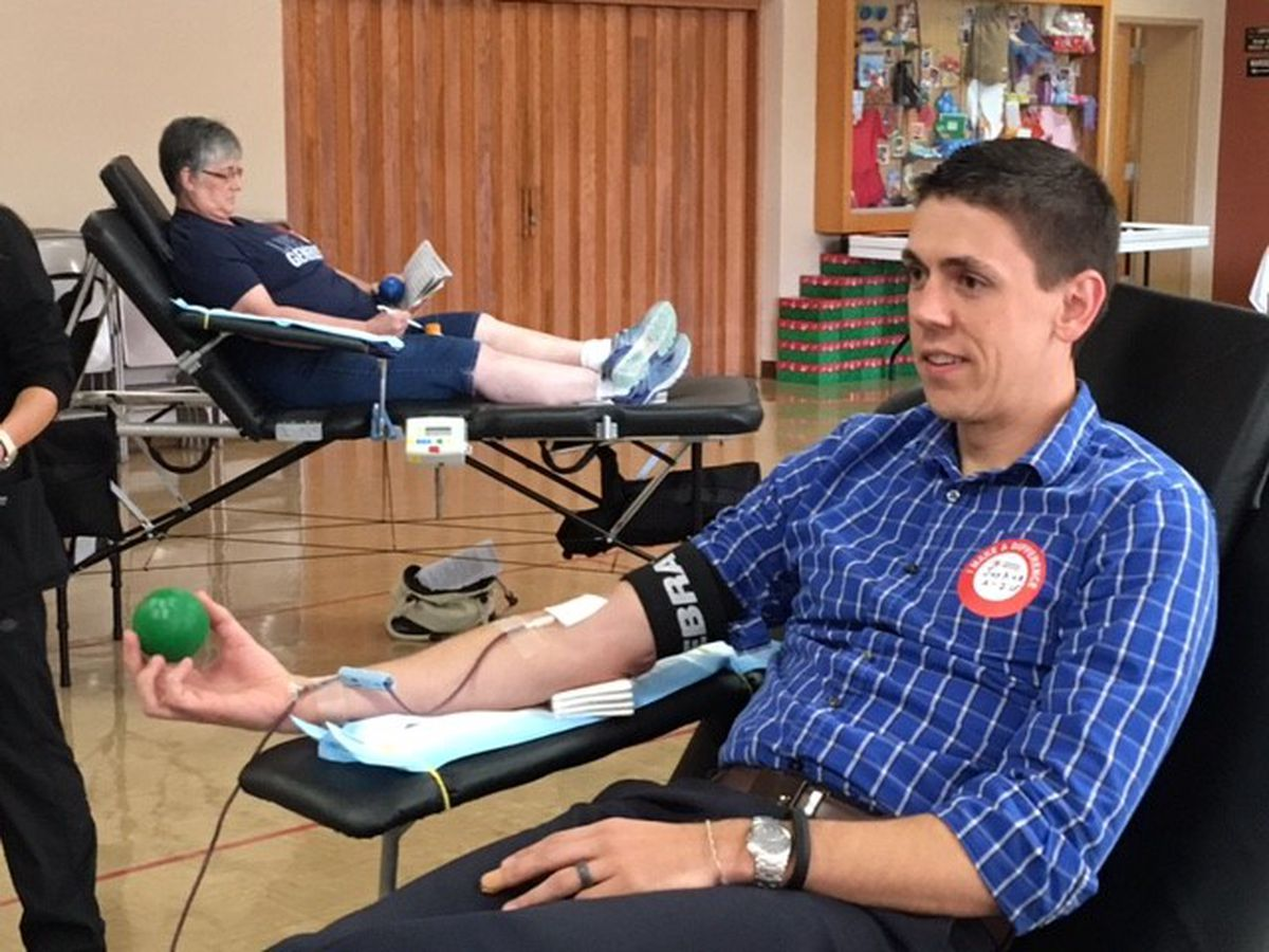 Blood drives aim to help with critical need after Hurricane Florence