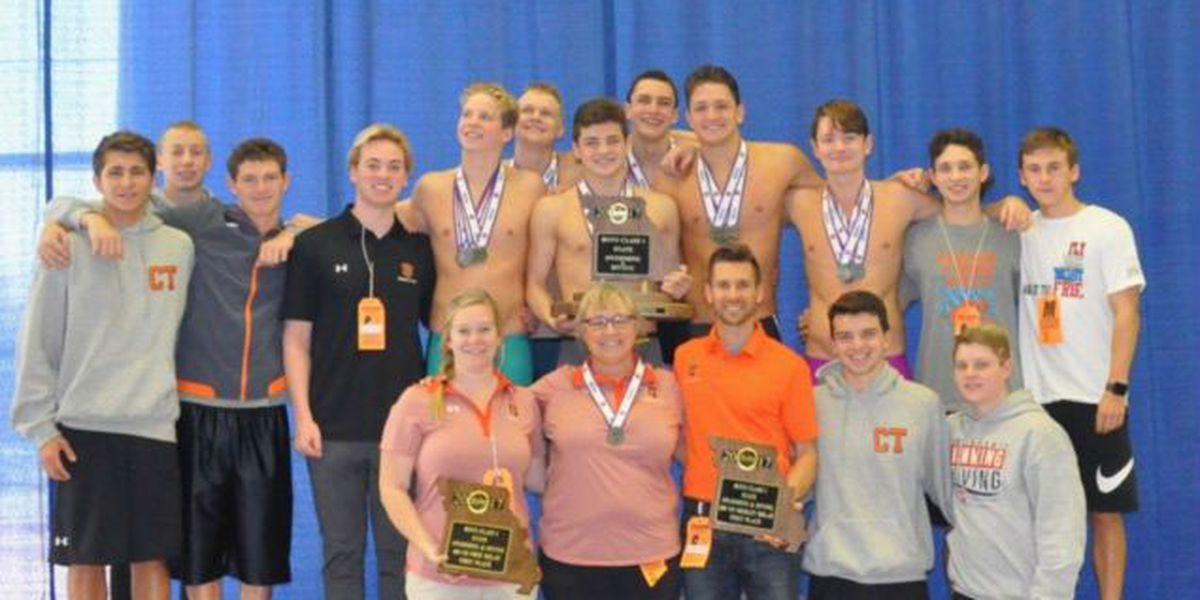 Cape Central boys swim team wins state championship